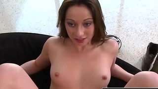 Hot brunette (Blake Haze) gets fucked in her tight pink pussy - Reality Kings