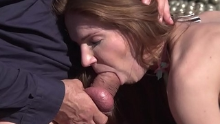 Angel Piaff and Melissa Benz share Rocco'_s monster cock