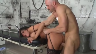 Cock hungry doctor (Anissa Kate) loves rucking cock and rough sex - BRAZZERS
