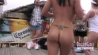 Wild Bikini Contest Goes Full Nude