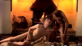 Charming twinks trade amazing blowjobs after making out